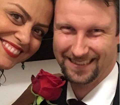 شبنم فرشاد جو بازیگر زن معروف ایرانی با مرد آلمانی ازدواج کرد + عکس