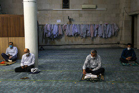 اقامه نماز عیدسعید فطر - دانشگاه تهران