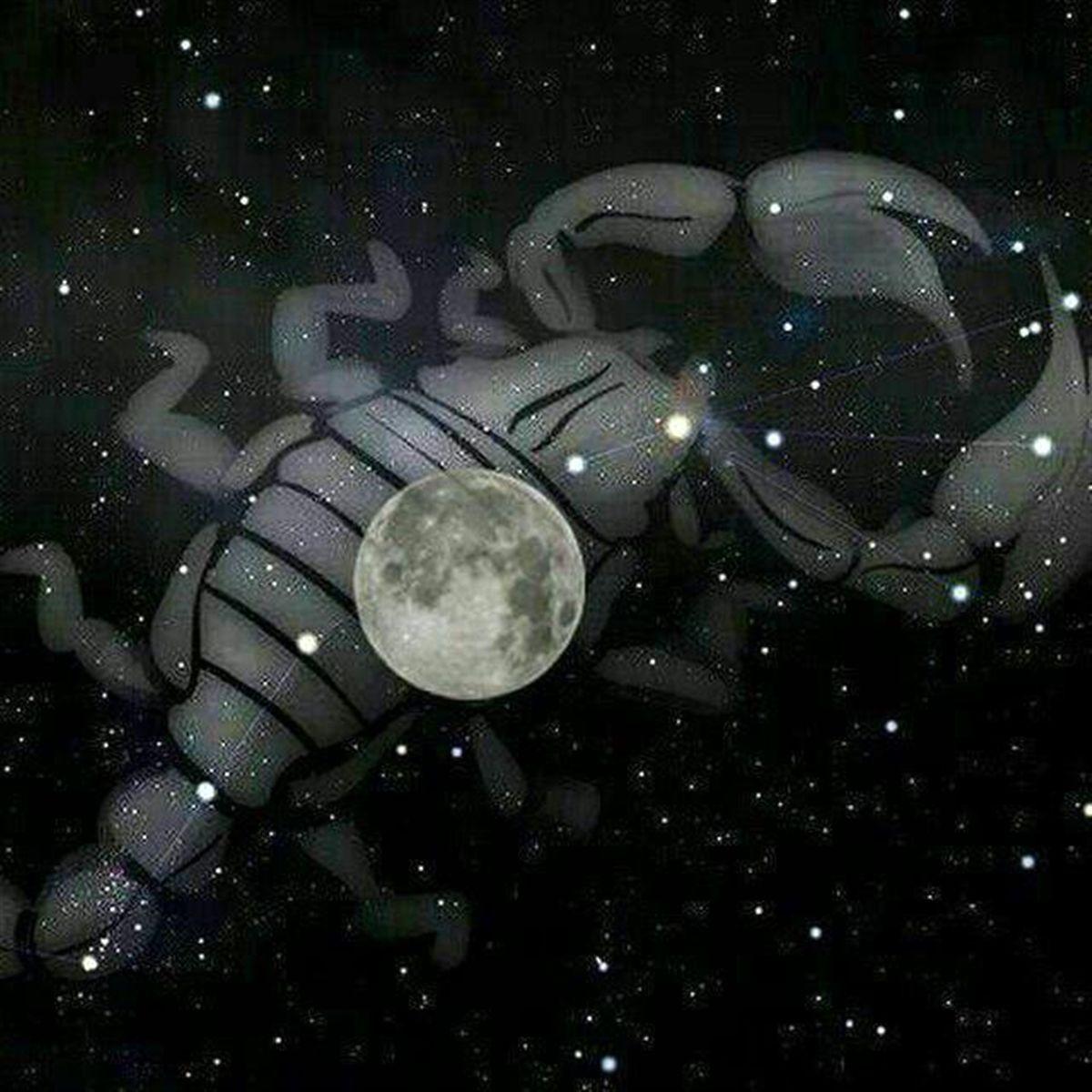قمر در عقرب چه زمانی رخ میدهد؟
