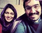 عکس لورفته و جنجالی از پگاه اهنگرانی در کنار بازیگر سرشناس + تصاویر دیده نشده