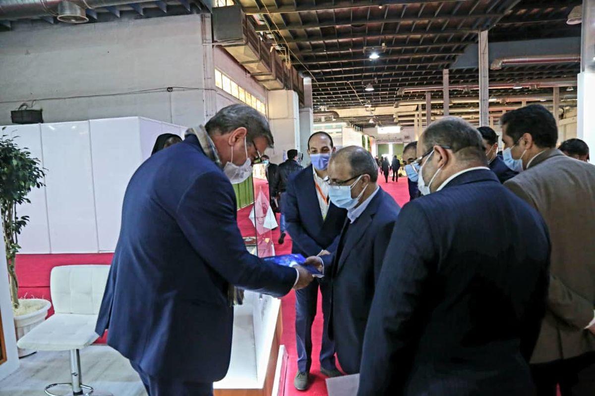 حضور فعال شرکت معدنی و صنعتی چادرملو در شانزدهمین نمایشگاه بین المللی