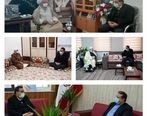دیدار مشاور وزیر صمت و مدیر مجتمع سنگ آهن سنگان با فرماندار و علمای شهرستان خواف
