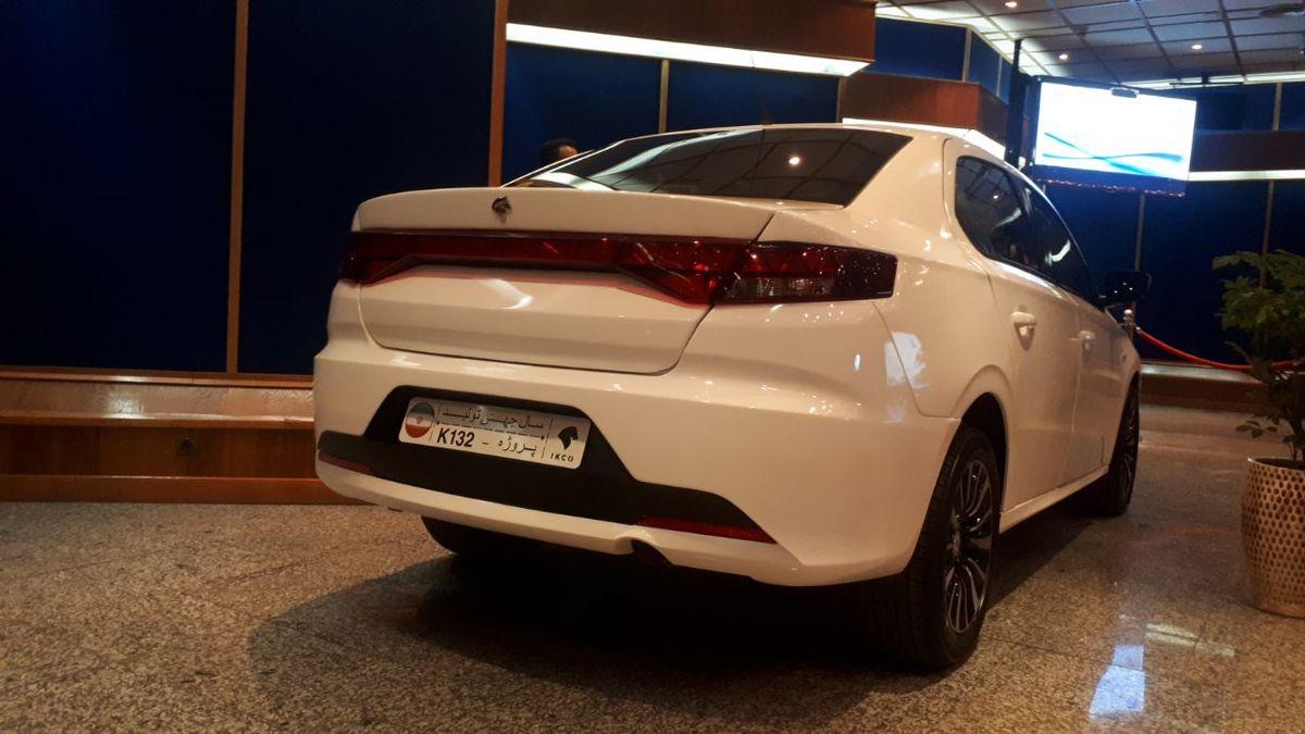 رونمایی از خودروی جدید ایران خودرو+ عکس