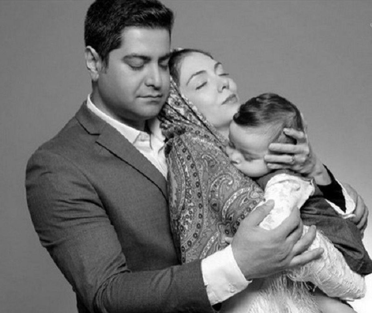 همسر آزاده نامداری دوباره عزادار شد + عکس