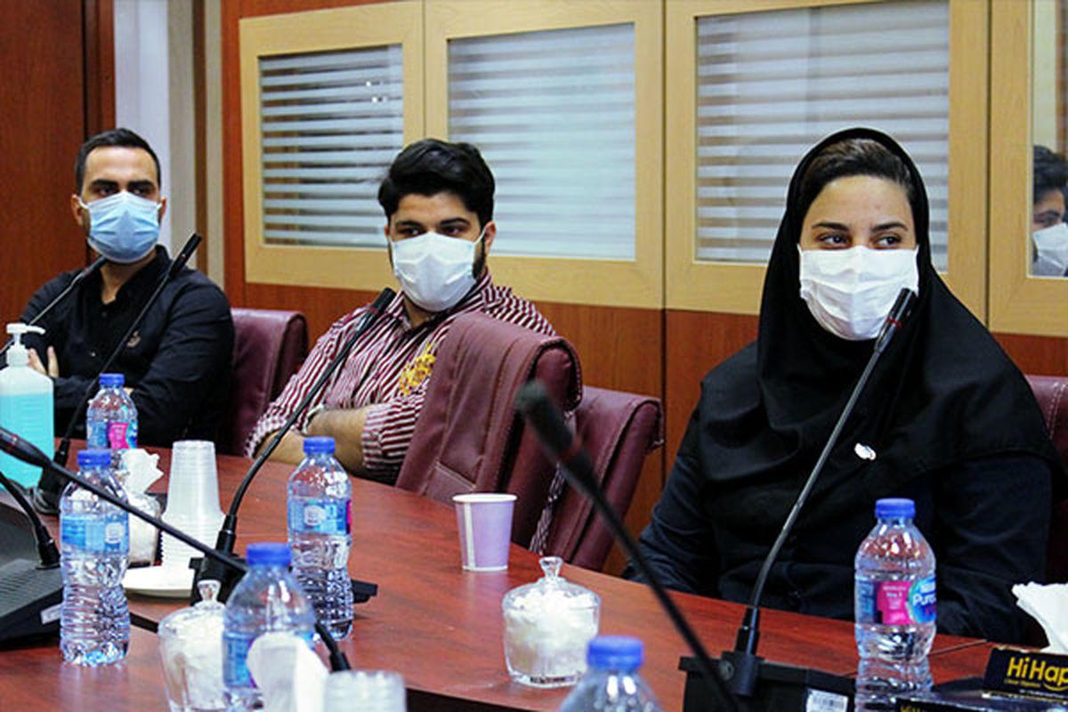 """نخستین نشست """"گفتمان جوانان ایران کیش"""" به مناسبت روز جوان"""