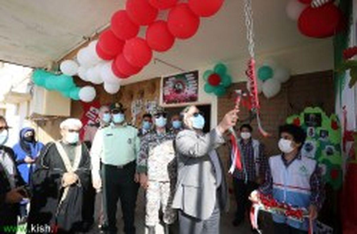 """زنگ انقلاب در """"مدرسه انقلاب اسلامی"""" پایگاه هوایی کیش نواخته شد"""