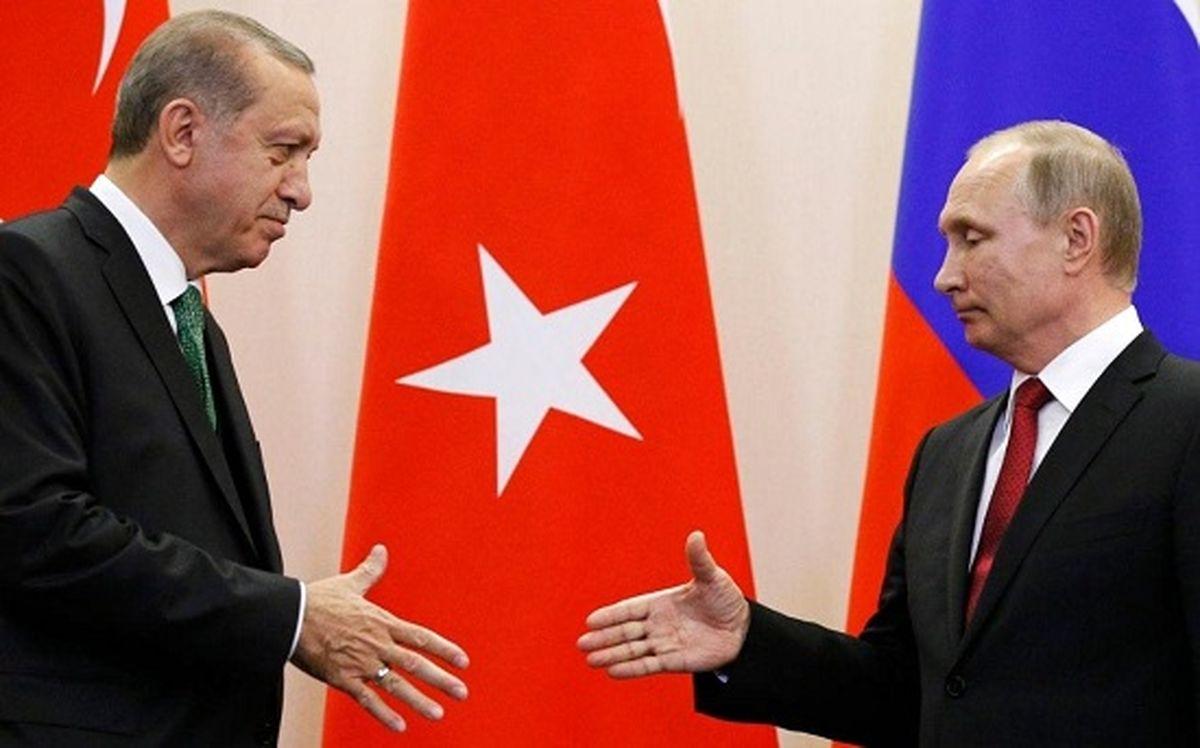 پوتین و اردوغان در مسئله سوریه به توافق رسیدند + جزئیات