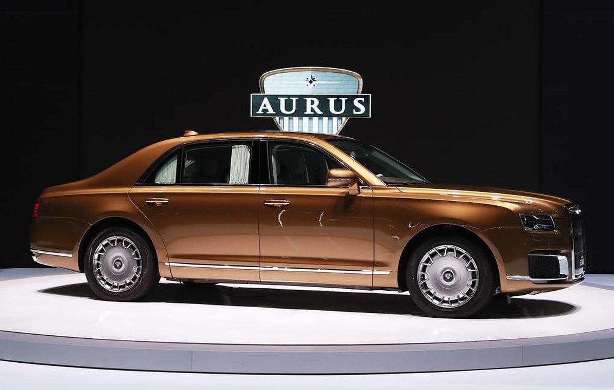 تولید خودروهای پرتجمل اروس در روسیه آغاز شد