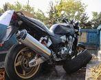 توقیف موتورسیکلت ۶۰۰ میلیون تومانی در تهران+ عکس