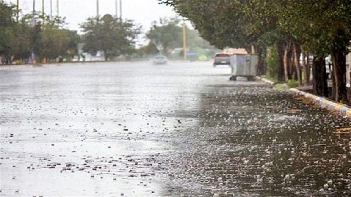 تداوم بارش باران در برخی مناطق