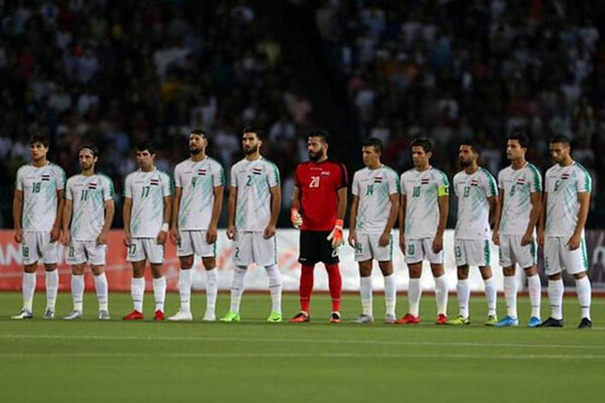 لیست تیم ملی فوتبال عراق برای بازی مقابل ایران
