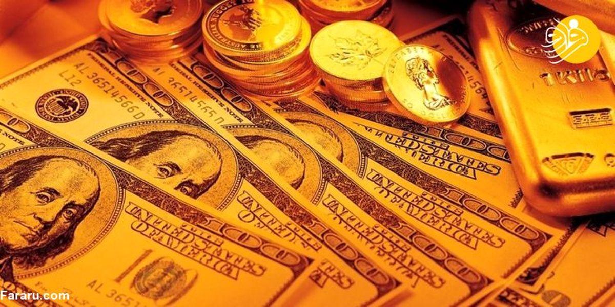 نرخ ارز، دلار، سکه، طلا و یورو در بازار امروز ۱۷ آذر ۹۸