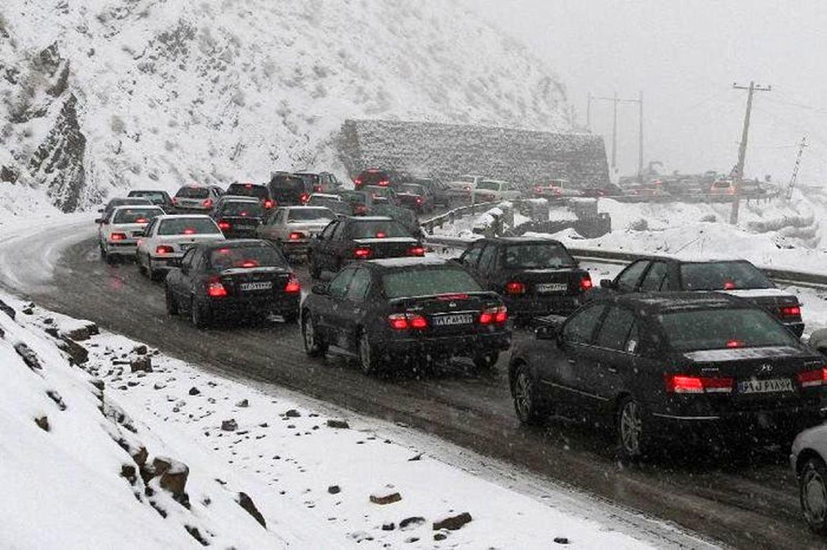 آخرین وضعیت ترافیکی در جادههای کشور