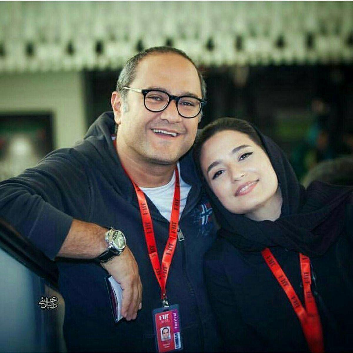 عکس دیده نشده از رامبد جوان و دخترش نوردخت + عکس