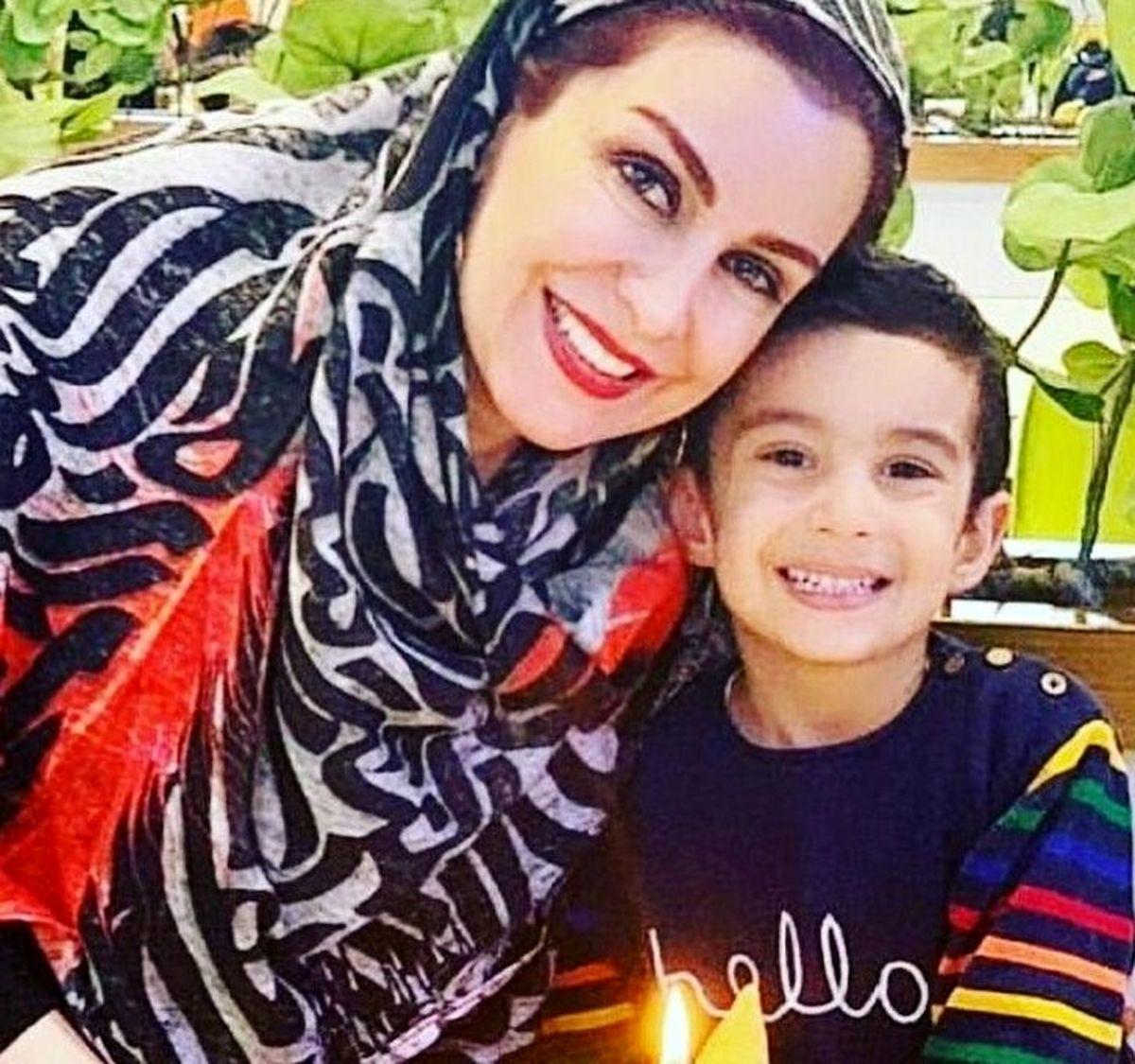 حال و روز پسر 5 ساله ماه چهره خلیلی بعد از فوت مادرش + فیلم