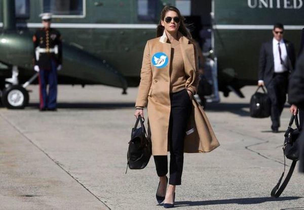 زنی که به ترامپ و همسرش کرونا داد + عکس