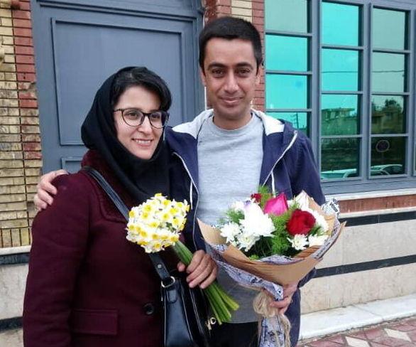مهدی حاجتی عضو شورای شهر شیراز دقایقی پیش از زندان آزاد شد.