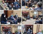 دیدار و گفتگوی مدیرعامل بیمه میهن و مدیر کل بنیاد مسکن سیستان و بلوچستان