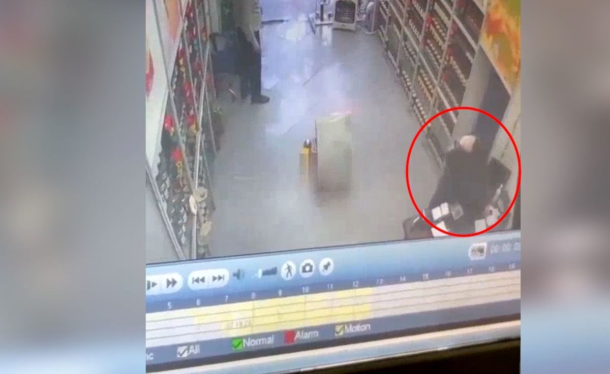 روش عجیب سرقت زن چادری از یک مغازه همه را متعجب کرد + ویدئو
