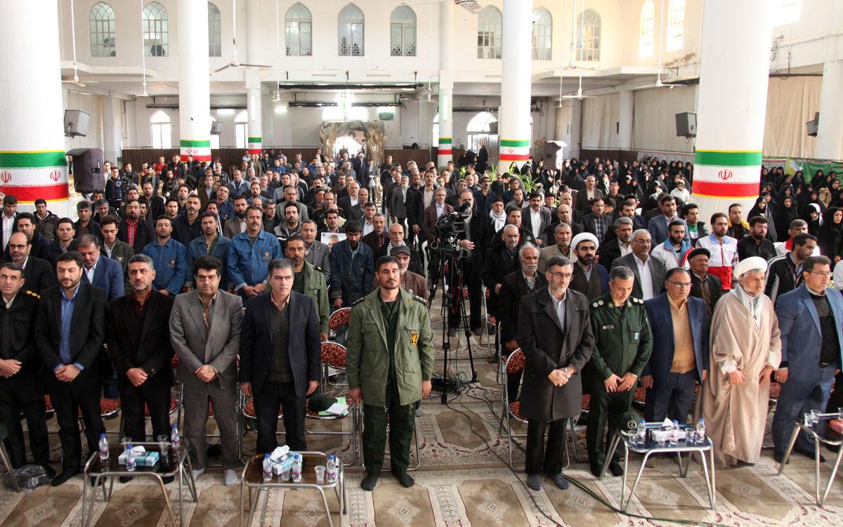 برگزاری یادواره شهدای کارگر و کارمند شهرستان لنجان