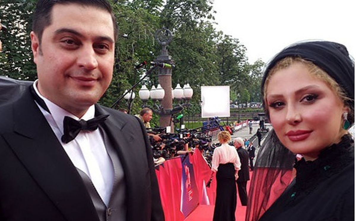 بیوگرافی نیوشا ضیغمی و همسرش + عکس