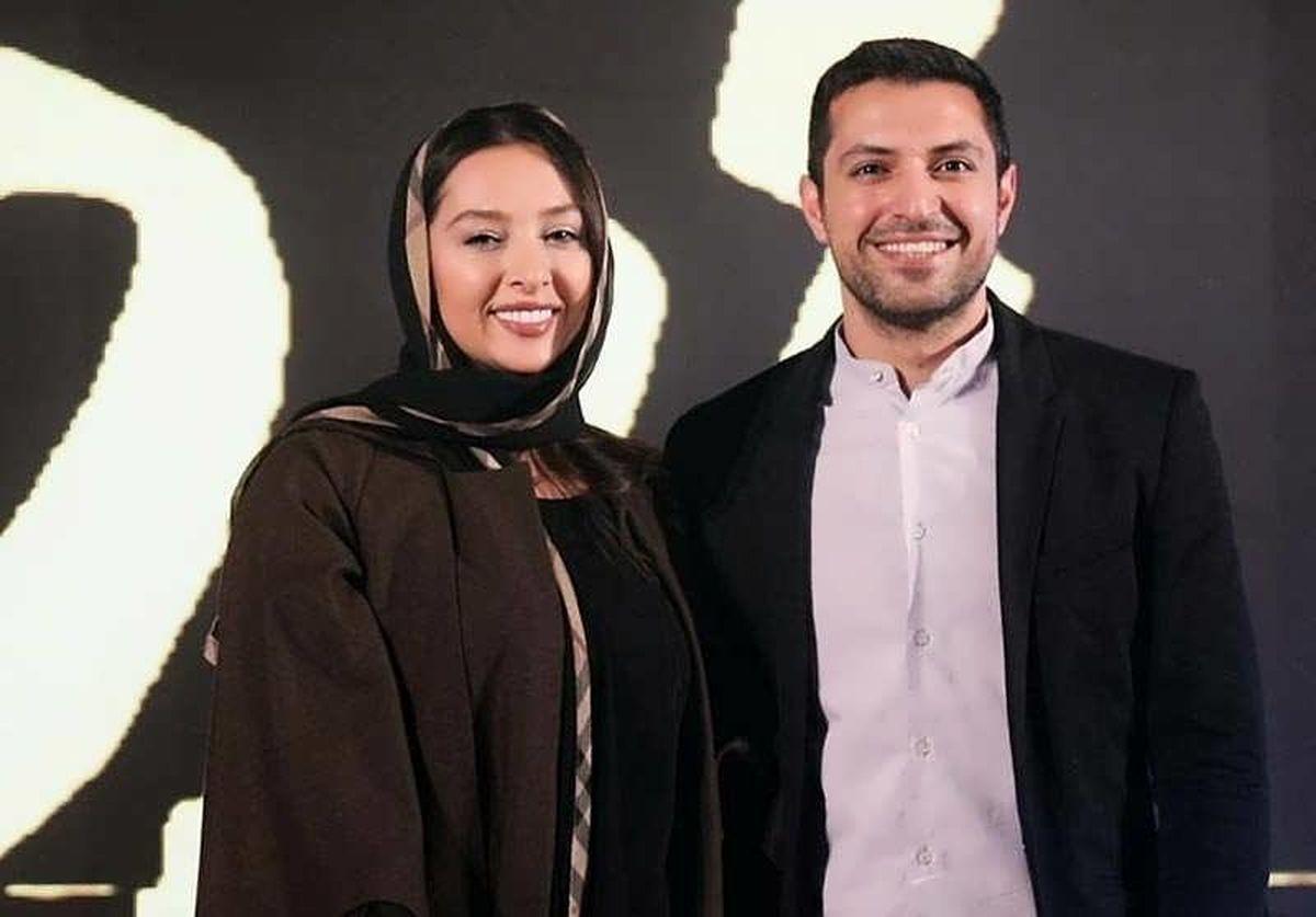 اشکان خطیبی همسرش را در سریال خاتون طلاق داد   دعوای زن و شوهری اشکان خطیبی و همسرش