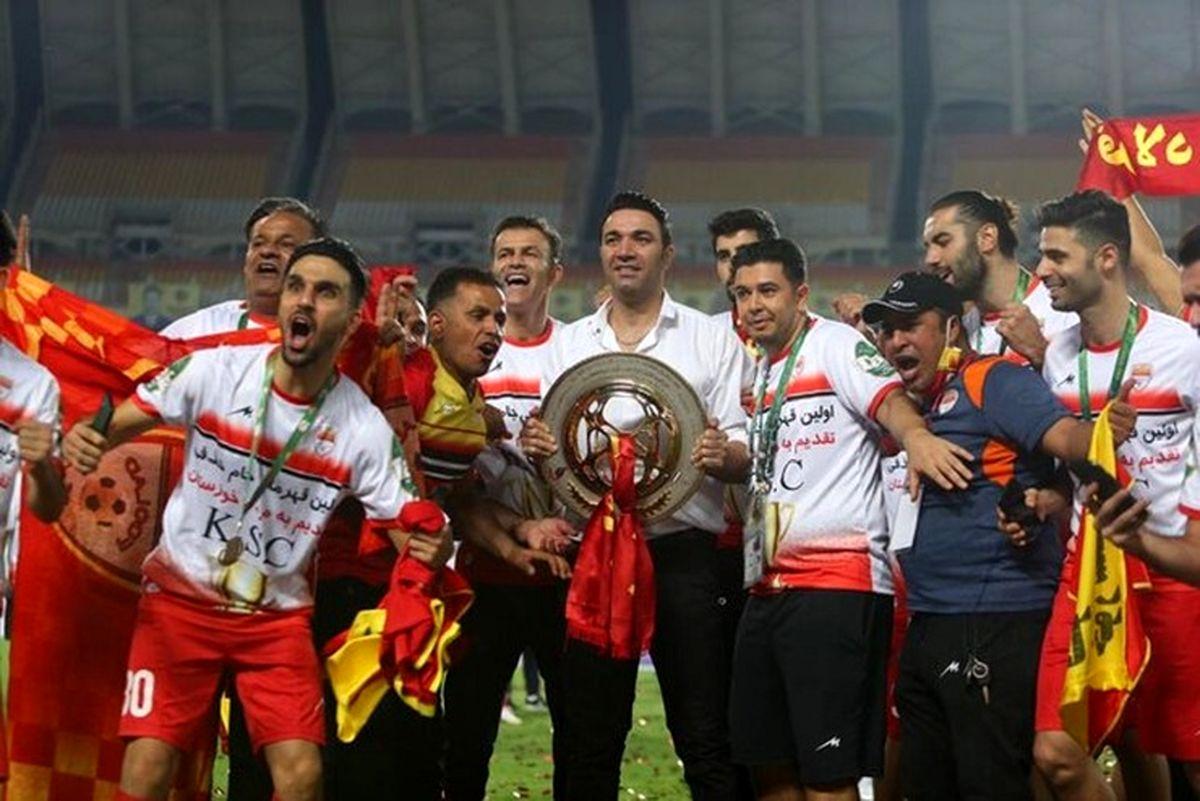 جشن و پایکوبی خوزستانی ها بعد از برد در جام حذفی + فیلم
