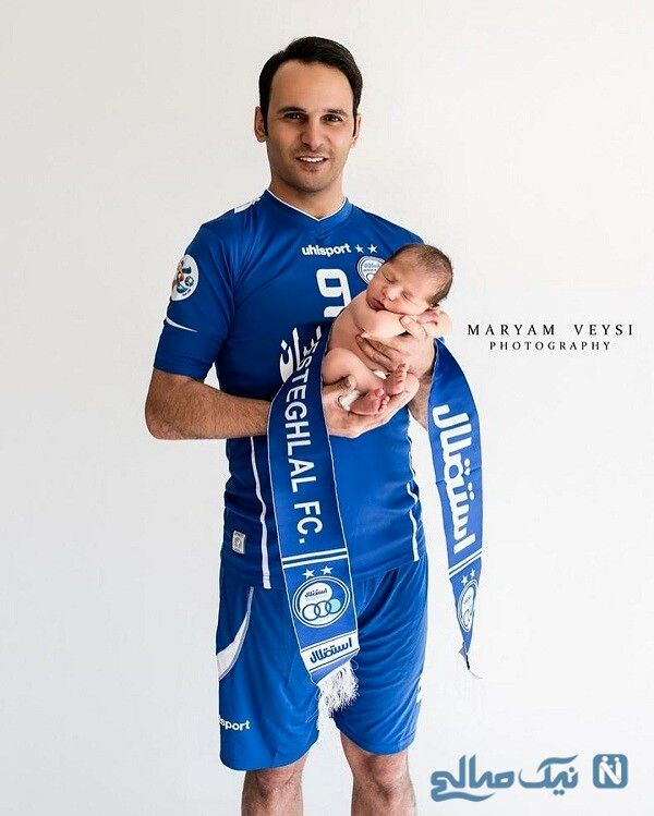 پسر آرش برهانی سرمربی فوتبال