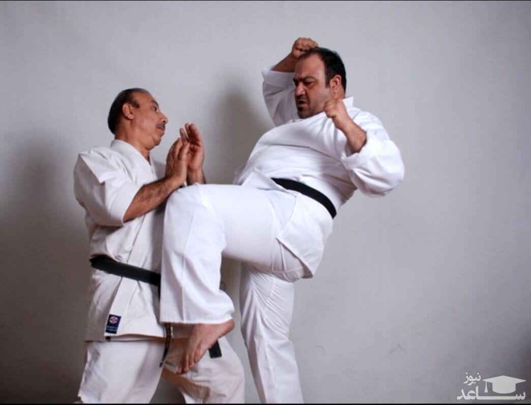 ورزش کاراته مهران غفوریان