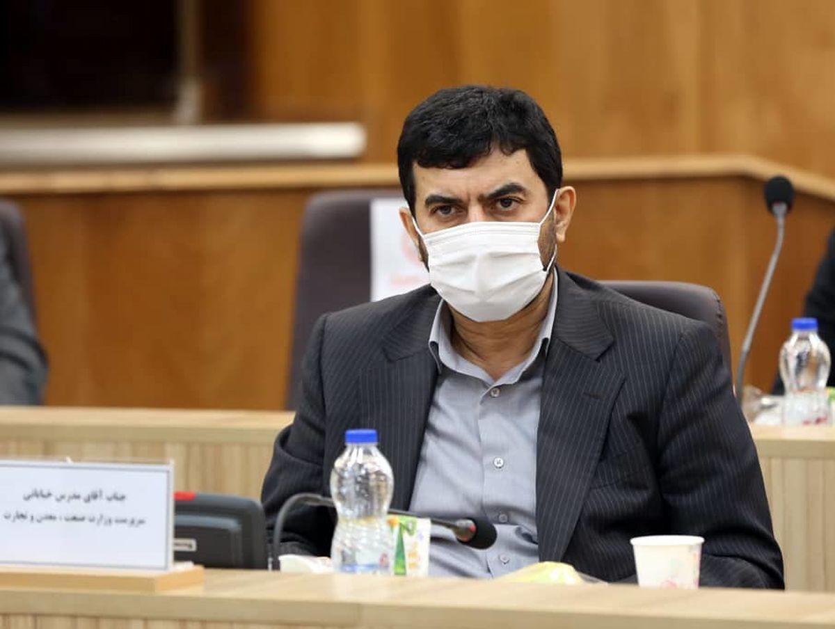 ماموریتهای مهم سرپرست وزارت صمت به سازمان گسترش و نوسازی صنایع ایران