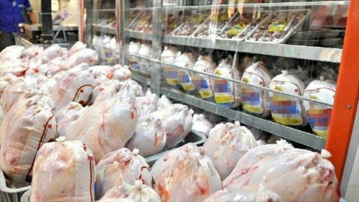 توزیع مرغ گرم در فروشگاههای زنجیرهای از فردا