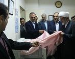 تجهیز بیمارستان شهدای زیرآب با کمک بانک ملی ایران