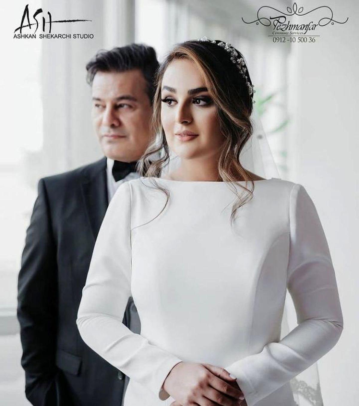 عکس جدید از پیمان قاسم خانی و همسر جدیدش + عکس