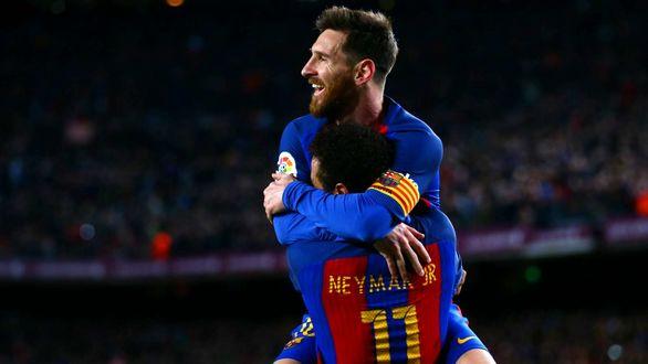 نیمار : بازی کنار مسی افتخار است
