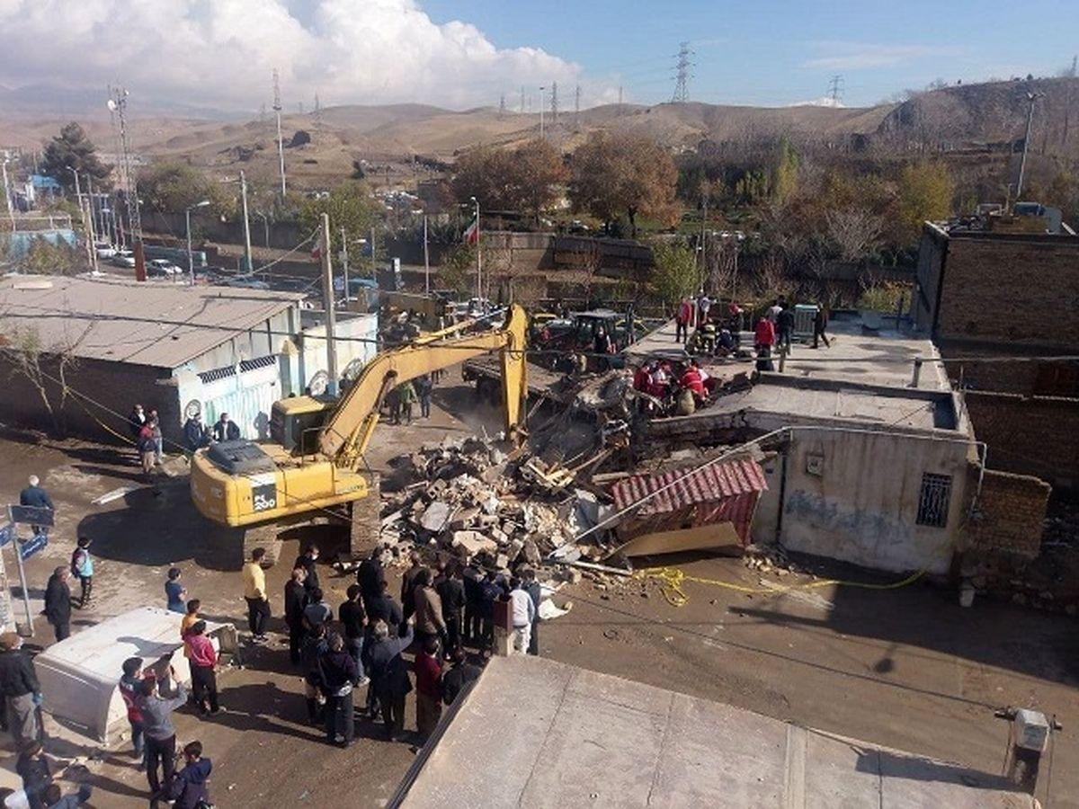 ورود یک کامیون به منزل مسکونی در پردیس + آمار کشته شدگان