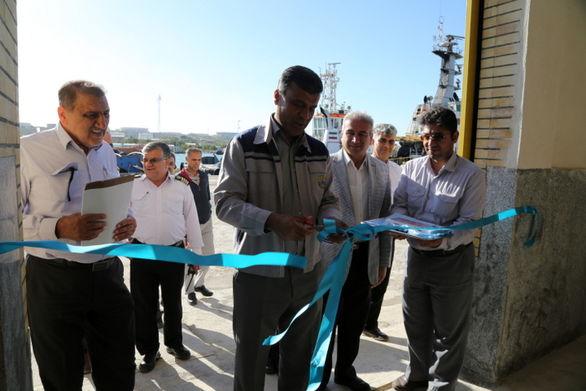 افتتاح کارگاه جوشکاری عملیات دریایی پایانه نفتی خارگ