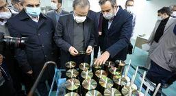 احیای مجدد واحد تولیدی انواع لوح فشرده توسط وزیر صمت در شهرک صنعتی شکوهیه قم