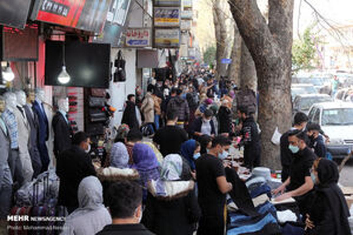 تهران خط «قرمز» کرونا را رد کرد