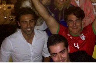 عکس لو رفته از فرهاد مجیدی در مهمانی خصوصی با بازیگران + تصاویر دیده نشده از وی