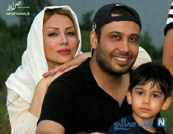 محسن چاوشی و همسرش