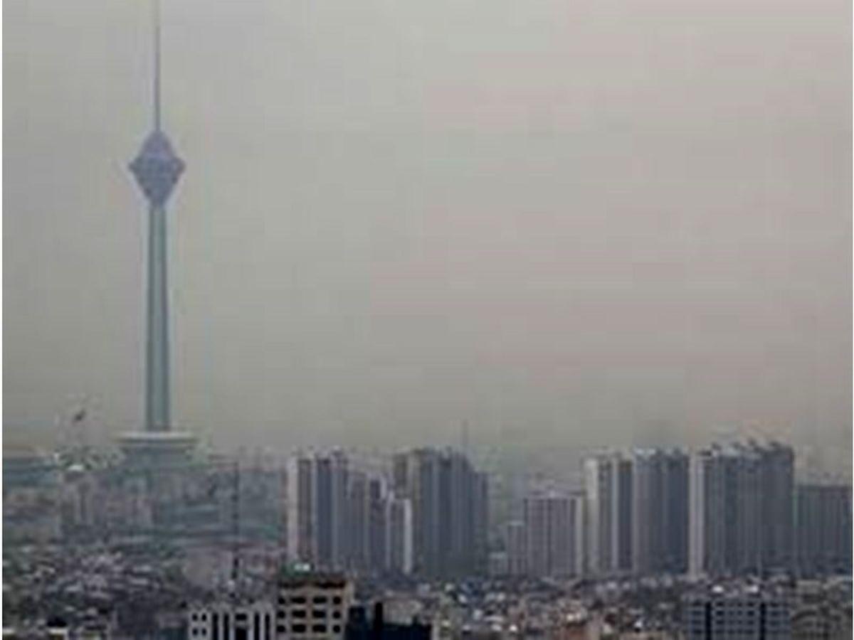 هوای پایتخت در شرایط ناسالم قرار گرفت