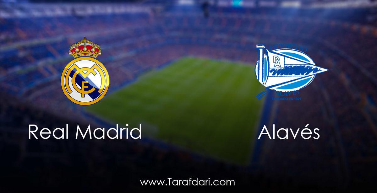 ترکیب رئال مادرید و الاوز + ساعت بازی