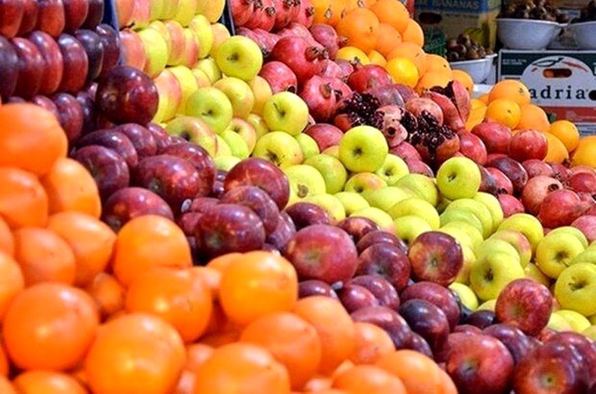 جدول قیمت میوه و تره بار در بازار   شنبه 24 آبان