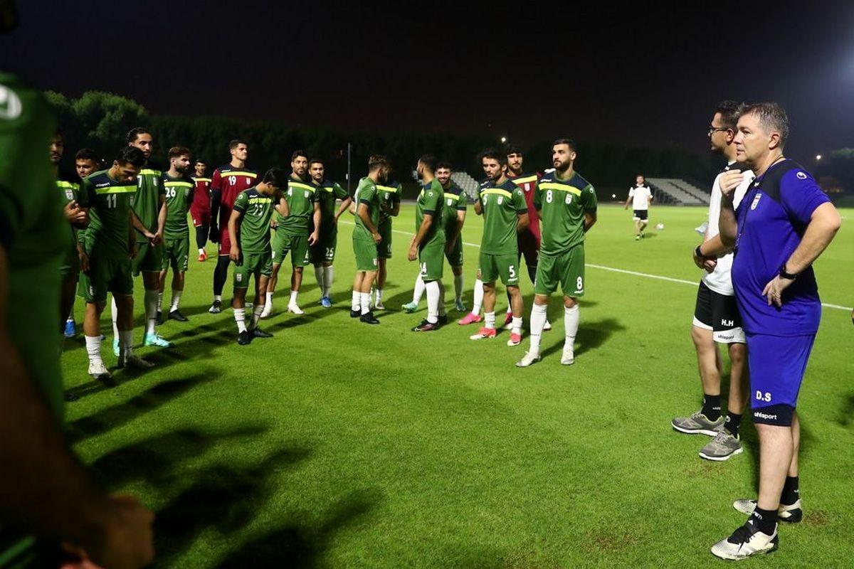 ترکیب تیم ملی مقابل عراق   ساعت بازی ایران و عراق