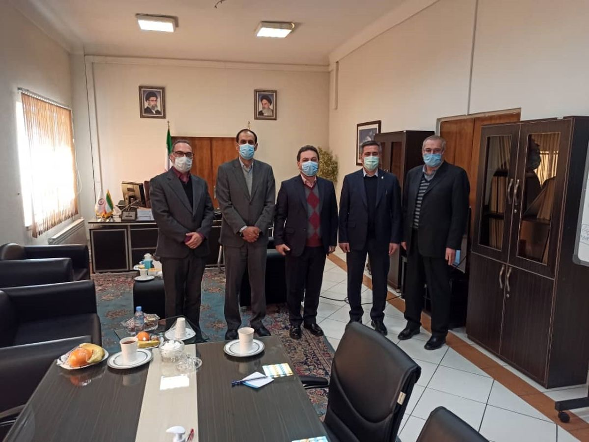 بازدید اعضای هیات مدیره از اداره کل مدیریت ریسک