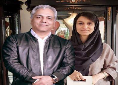 این خانم همسر مهران مدیری است؟ + عکس