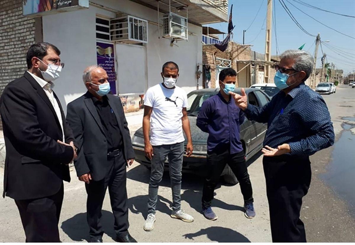 دستور تسریع در روند وضعیت حقوقی و ثبتی اراضی کوی مدرس اهواز صادر شد