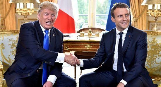 فرانسه علیه ترامپ موضع گرفت