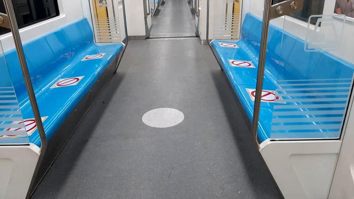 متروی تهران علامتگذاری شد