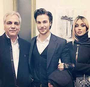 عروس مهران مدیری لو رفت! / ماجرای جالب عروس مهران مدیری بودن !!